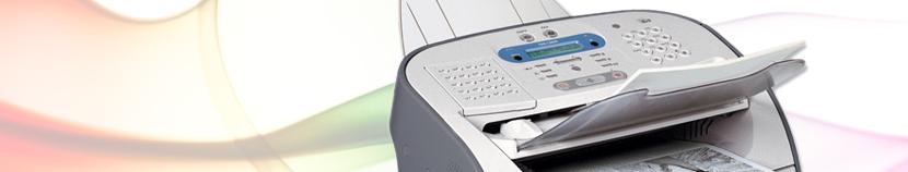 Fax Machine Banner
