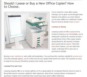 New Office Copier