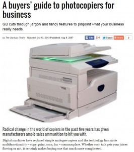 Photocopiers for Business